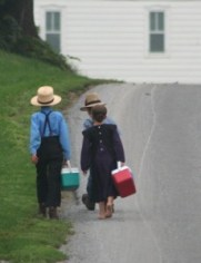 http://commons.wikimedia.org/wiki/File:Amish_On_the_way_to_school_by_Gadjoboy2.jpg