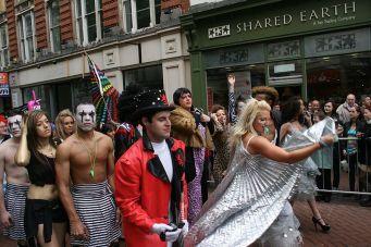 http://en.wikipedia.org/wiki/File:Birmingham_Gay_Pride_2011_Moulin_Rouge_Marchers.jpg
