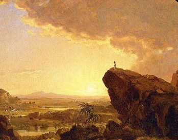 http://commons.wikimedia.org/wiki/File:Moses_Viewing_the_Promised_Land_Frederic_Edwin_Church.jpg