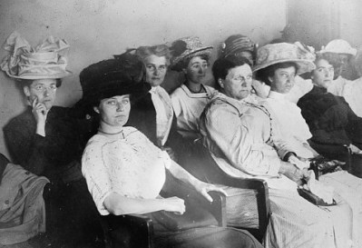 http://commons.wikimedia.org/wiki/File:First_woman_jury.jpg