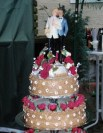 http://commons.wikimedia.org/wiki/File:Wedding_cake_of_a_same_sex_marriage.JPG