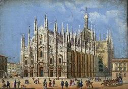 http://en.wikipedia.org/wiki/File:Milano_Duomo_1856.jpg