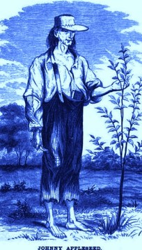 http://commons.wikimedia.org/wiki/File:Johnny_Appleseed_1.jpg