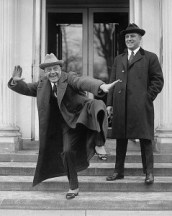 http://commons.wikimedia.org/wiki/File:Billy_Sunday_at_the_White_House.jpg