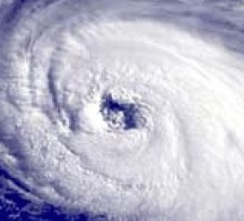 Hurricane Eye - NOAA - US Govt. Public Domain