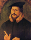 https://commons.wikimedia.org/wiki/File:John_Calvin_by_Holbein.png