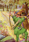 https://commons.wikimedia.org/wiki/File:Robin_shoots_with_sir_Guy_by_Louis_Rhead_1912.png