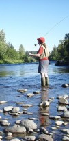 http://commons.wikimedia.org/wiki/File:Fly_fishing_on_the_South_Santiam.jpg