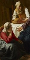 http://en.wikipedia.org/wiki/File:Johannes_(Jan)_Vermeer_-_Christ_in_the_House_of_Martha_and_Mary_-_Google_Art_Project.jpg