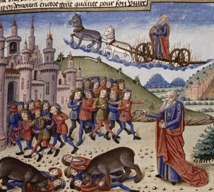 https://commons.wikimedia.org/wiki/File:Bears_savaging_the_youths_from_a_French_Manuscript.jpg