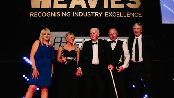 The Heavies 2018, Lifetime Achievement Award, Winner, Jim Lawson, Lawsons Haulage