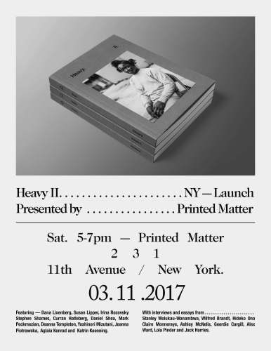 Printed Matter Launch