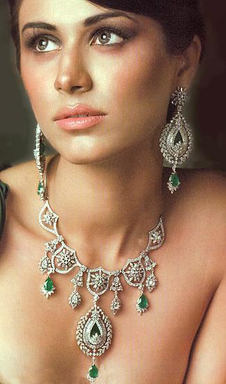 JW219 Sterling Silver Diamond Like Jewellery Jewellery Designs Bridal Jewellery Designs