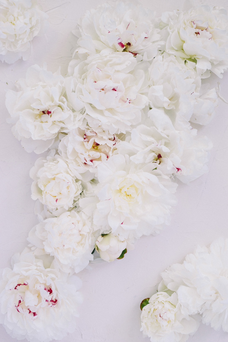 wedding bouquet preservation peonies