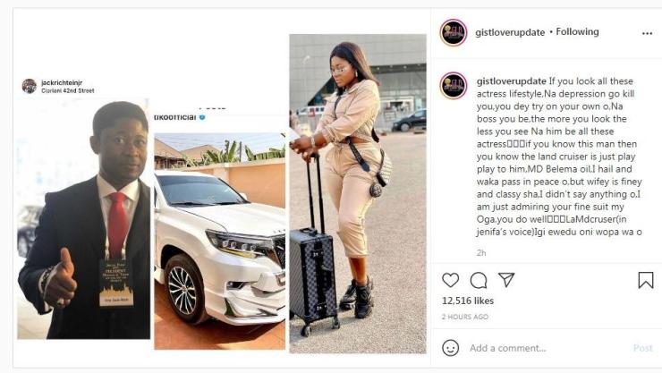 Busted!!! How A Married Billionaire Oil Mogul Bought Toyota Land Cruiser For Destiny Etiko