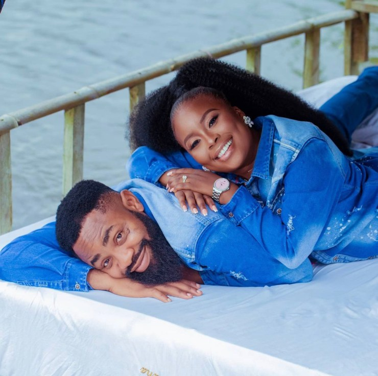 Comedian Woli Arole releases beautiful pre-wedding photos with wife-to-be. (See pictures)