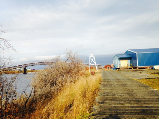 Alaska Boardwalk in Selawik