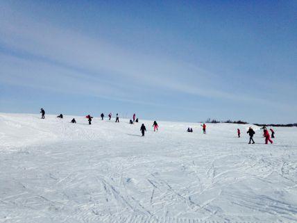 Alaska-cross-country-skiing-group