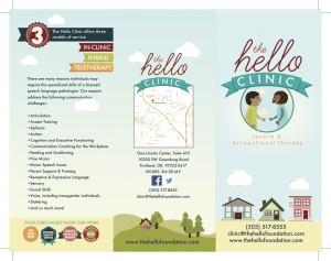 Clinic-brochure outside