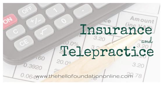 insurance reimbursement for telepractice