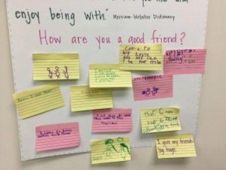 friend sticky notes
