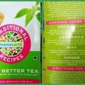 Traditional recipes tea