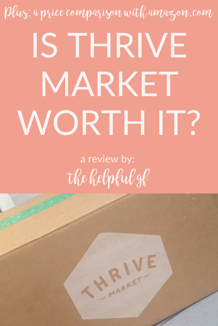 Is thrive market worth the subscription?