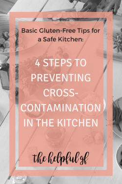 Avoiding Gluten cross contamination