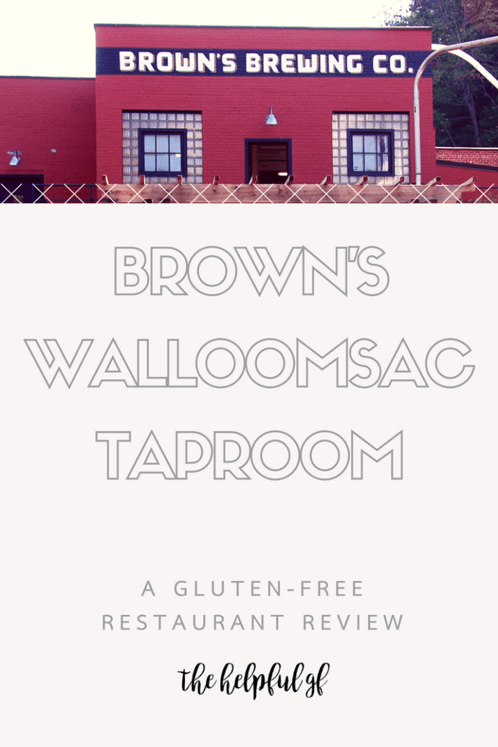 Restaurant Review for Brown's Brewing Company's Walloomsac Taproom