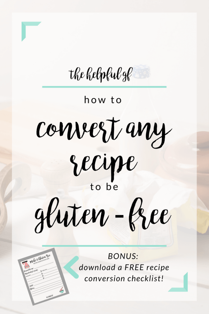 four simple tips on how to make any recipe gluten-free