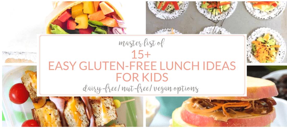 gluten free lunch ideas carousel