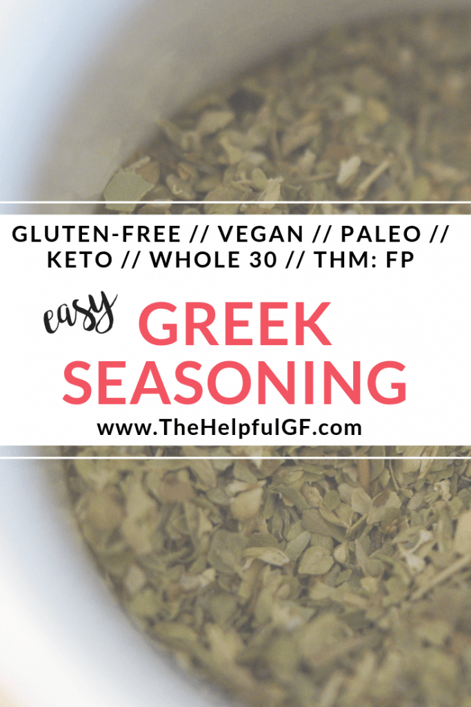 Homemade Greek Seasoning Pin 2