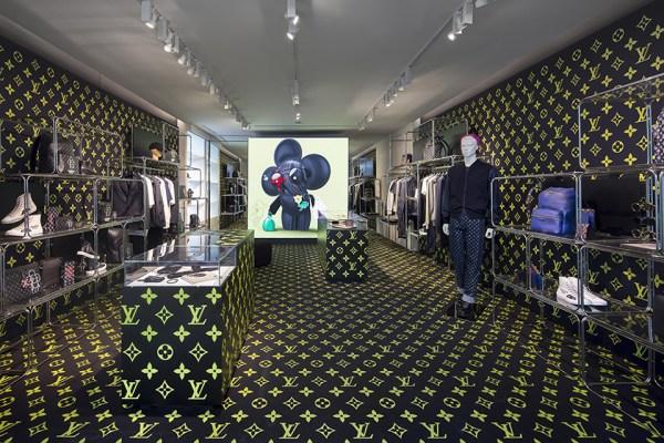 Louis Vuitton Opens Pop-Up Shop for Its Men's Fall-Winter ...