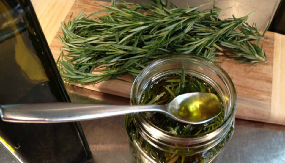 how to make herb infused oil