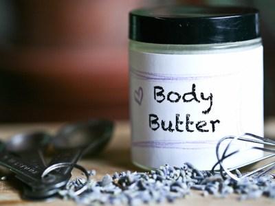 favorite homemade body butter