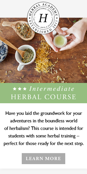 Online Intermediate Herbal Course