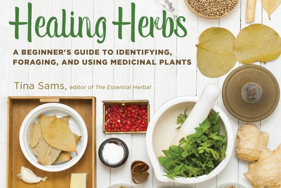 Healing Herbs book GIVEAWAY!