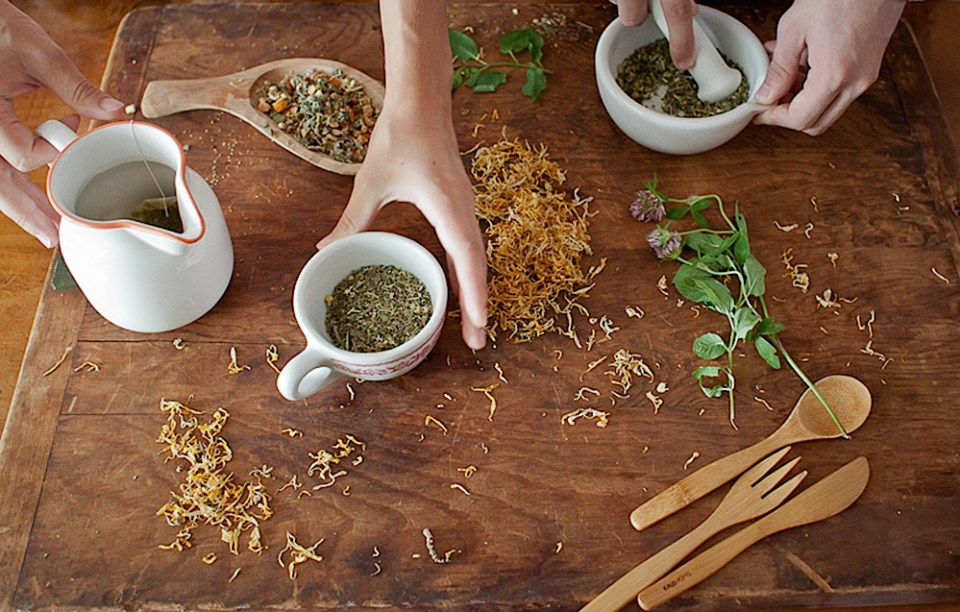 Intermediate Herbal Course by Herbal Academy - herbal hands at work