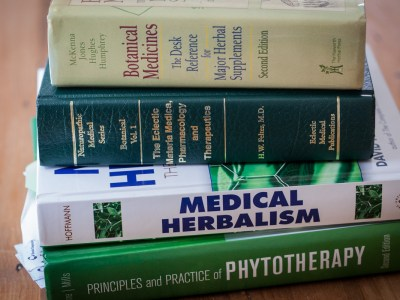 Behind The Scenes: Take A Tour of The The Herbal Academy's Newest Feature… The Herbal Bookshelf! | Herbal Academy | Come take a quick look around at the Herbal Academy's newest feature - The Herbal Bookshelf where we're sharing our favorite herbal books with you!