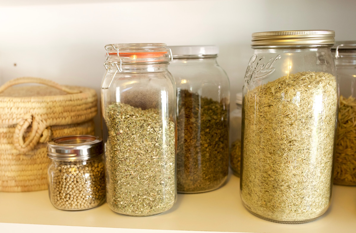 Tips for Drying and Storing Herbs by Herbal Academy : herb storage containers  - Aquiesqueretaro.Com