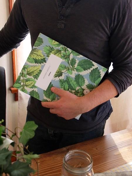 Herbal Academy Materia Medica Journal - journal in hand