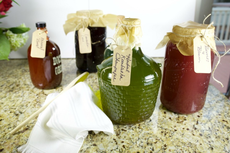 How To Make Herbal Kombucha Champagne | Herbal Academy | Learn how to make an herbal infused kombucha champagne in today's post.