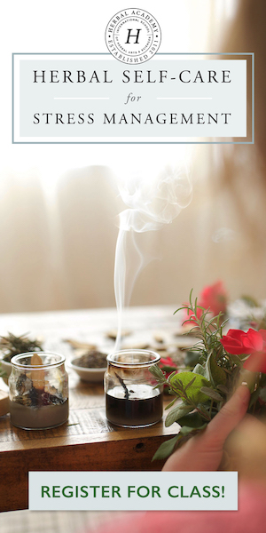 Enroll in the Herbal Self-Care for Stress Management Course