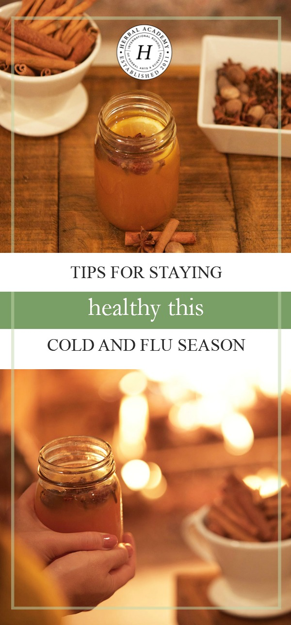 Tips For Staying Healthy This Cold And Flu Season   Herbal Academy   Have you thought about what you will do to support your body's health this winter? Here are some tips for staying healthy this cold and flu season!
