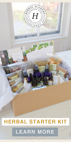 A complete Herbal Starter Kit by Herbal Academy