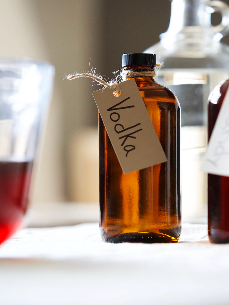 How To Dilute High-Proof Alcohol To Use In Herbal Tinctures | Herbal Academy | If you find yourself out of your favorite variety of alcohol and you want to make an herbal tincture, here's how to dilute high-proof alcohol in its place!