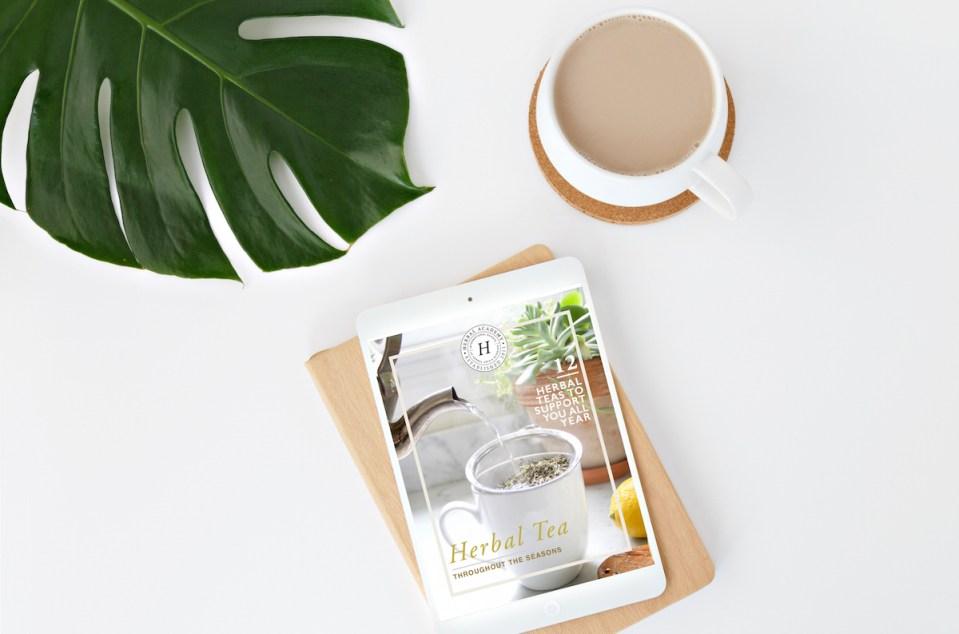 Free Herbal Teas throughout the Seasons ebook by Herbal Academy