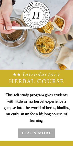 Begin your Herbal Journey in the Introductory Herbal Course