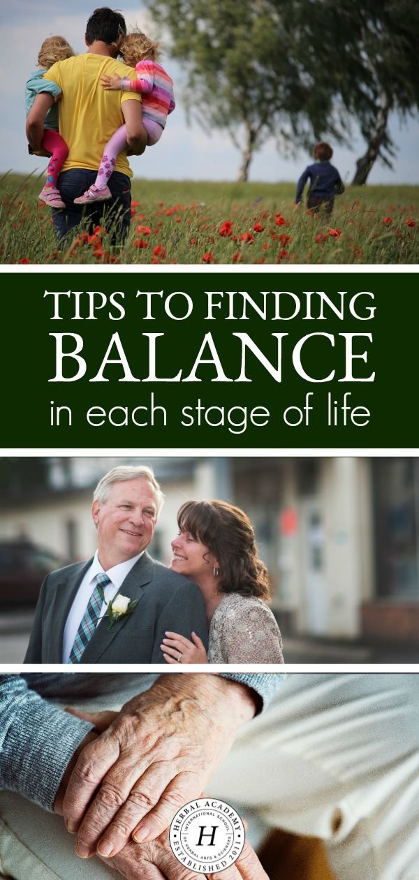 Tips To Finding Balance In Each Stage of Life | Herbal Academy | Find balance in each stage of life—childhood, the middle years, and the winter years, and ultimately, how to live life to the fullest regardless of your age and stage in this post.