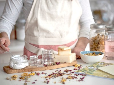 A DIY Floral Delight Soap Recipe You'll Love! | Herbal Academy | Enjoy this Floral Delight Soap recipe from our Botanical Skin Care Course. It makes a lovely bar of soap that you can enjoy yourself or gift to a friend!